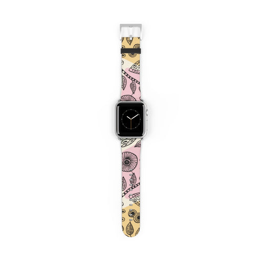 Artistic Floral Apple Watch Band