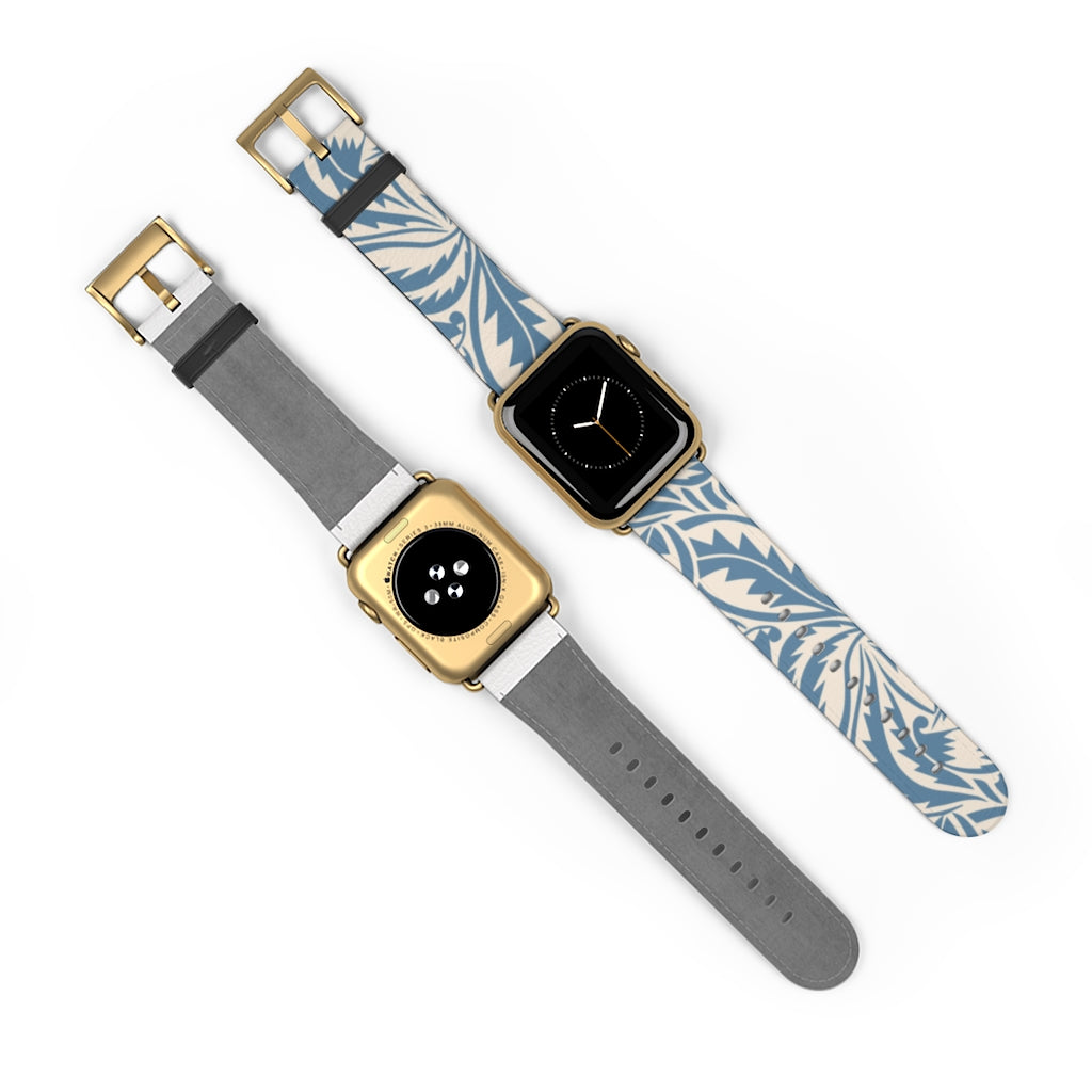 Blue Jungle Apple Watch Band