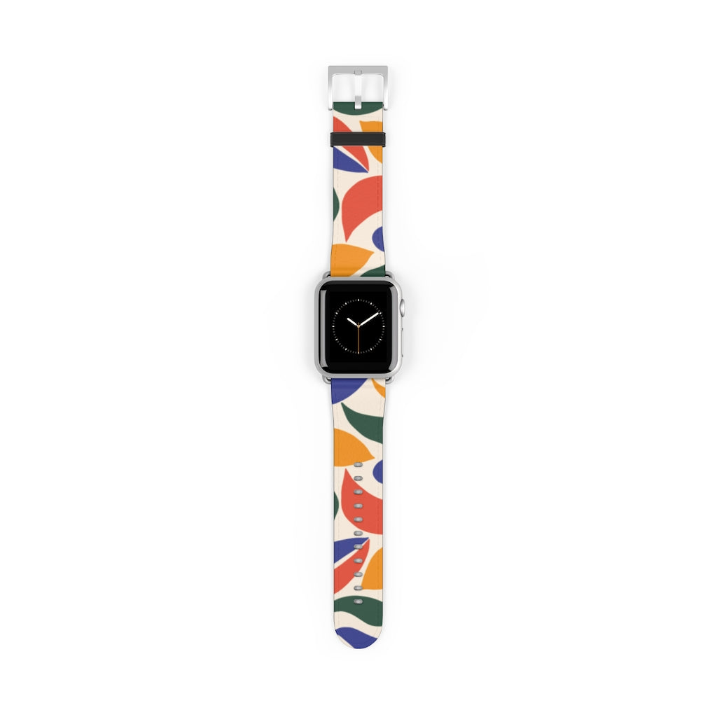 Colorful Shapes Apple Watch Band