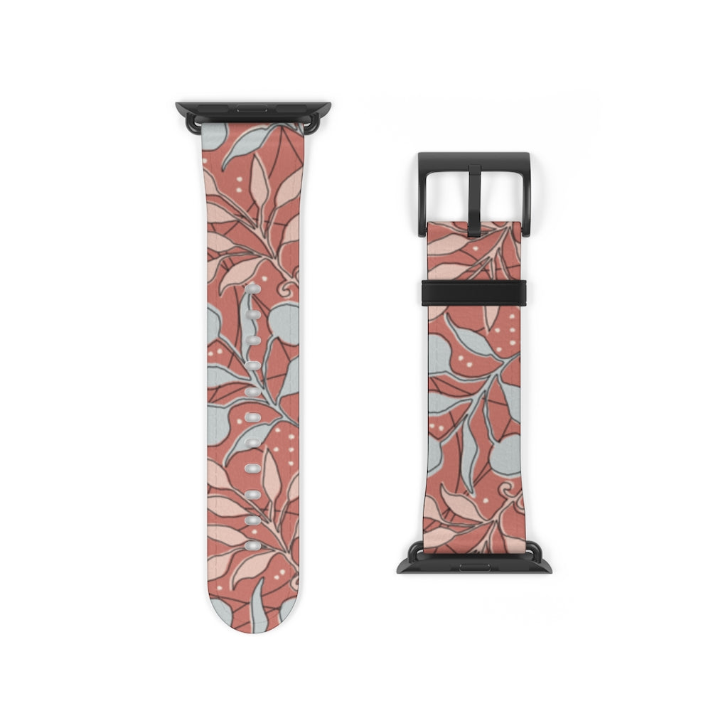 Floral Art Apple Watch Band