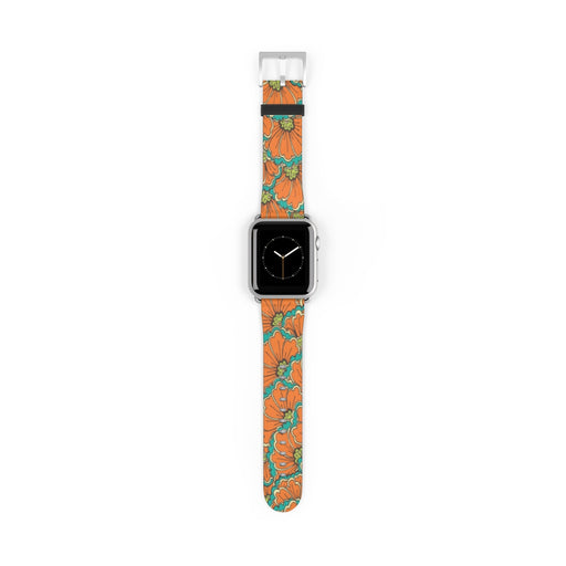 Watch Band with Vintage Art