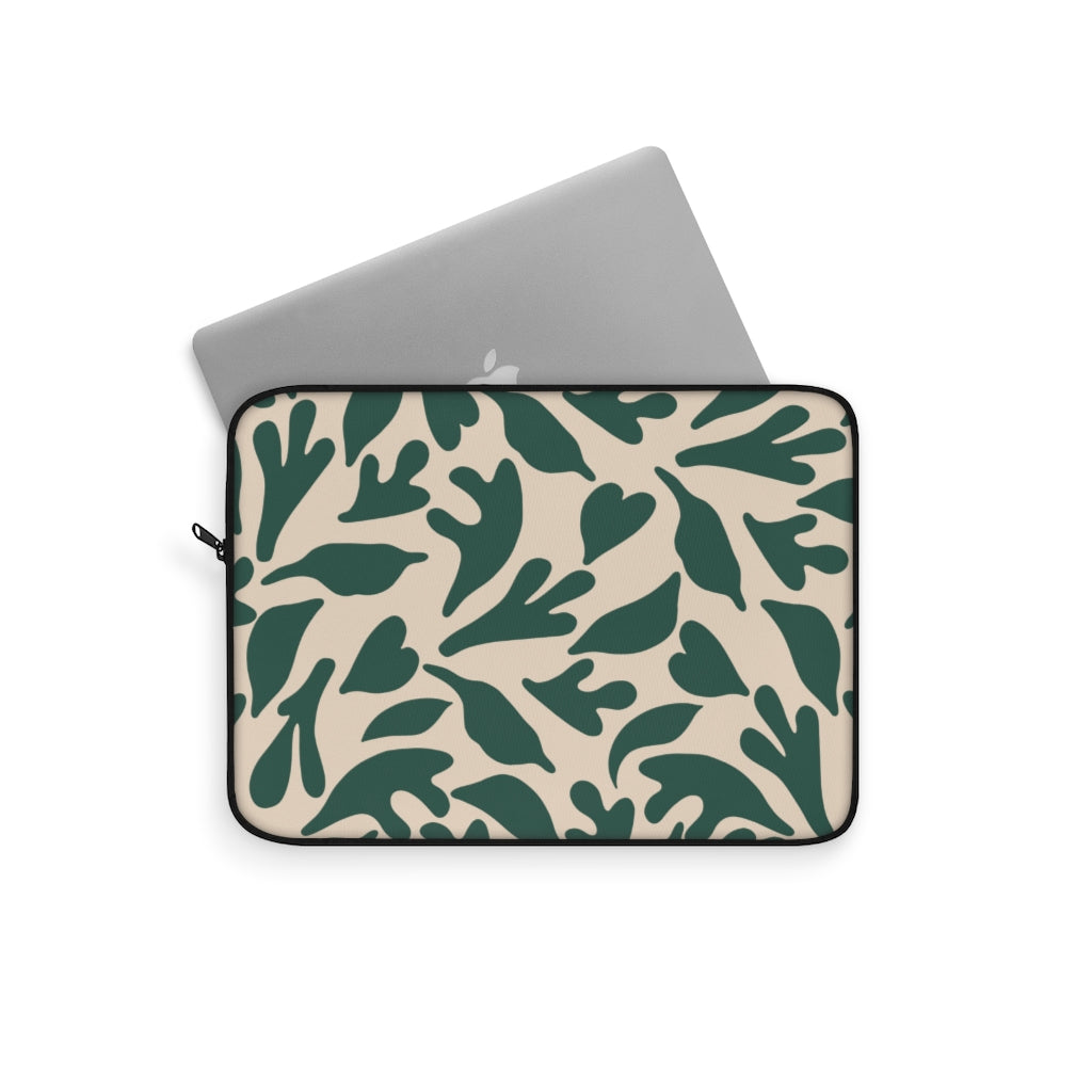 CUT OUTS LEAFS LAPTOP SLEEVE