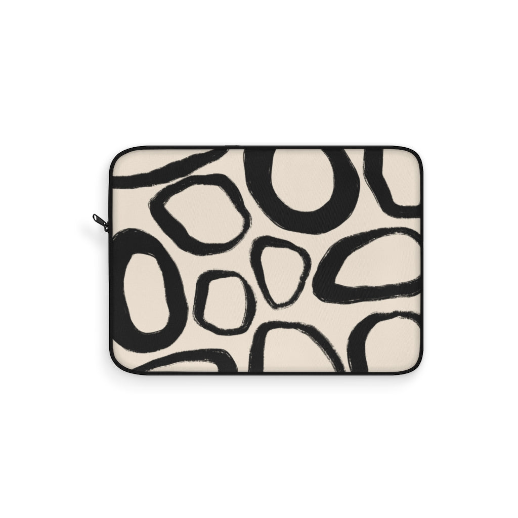 RUSTIC ABSTRACT LAPTOP SLEEVE