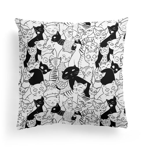 Pillow with Sweet Kitties