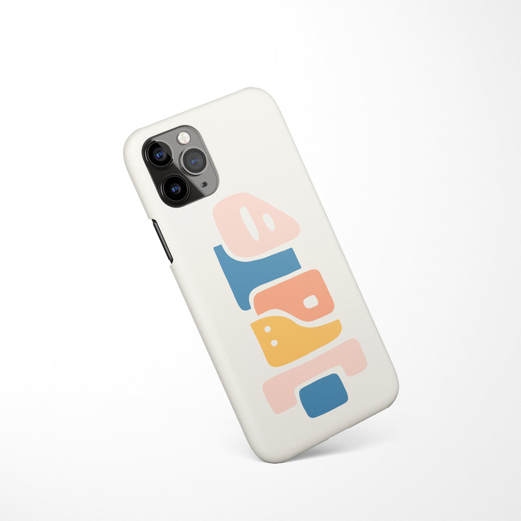 Abstract Sculpture iPhone Case