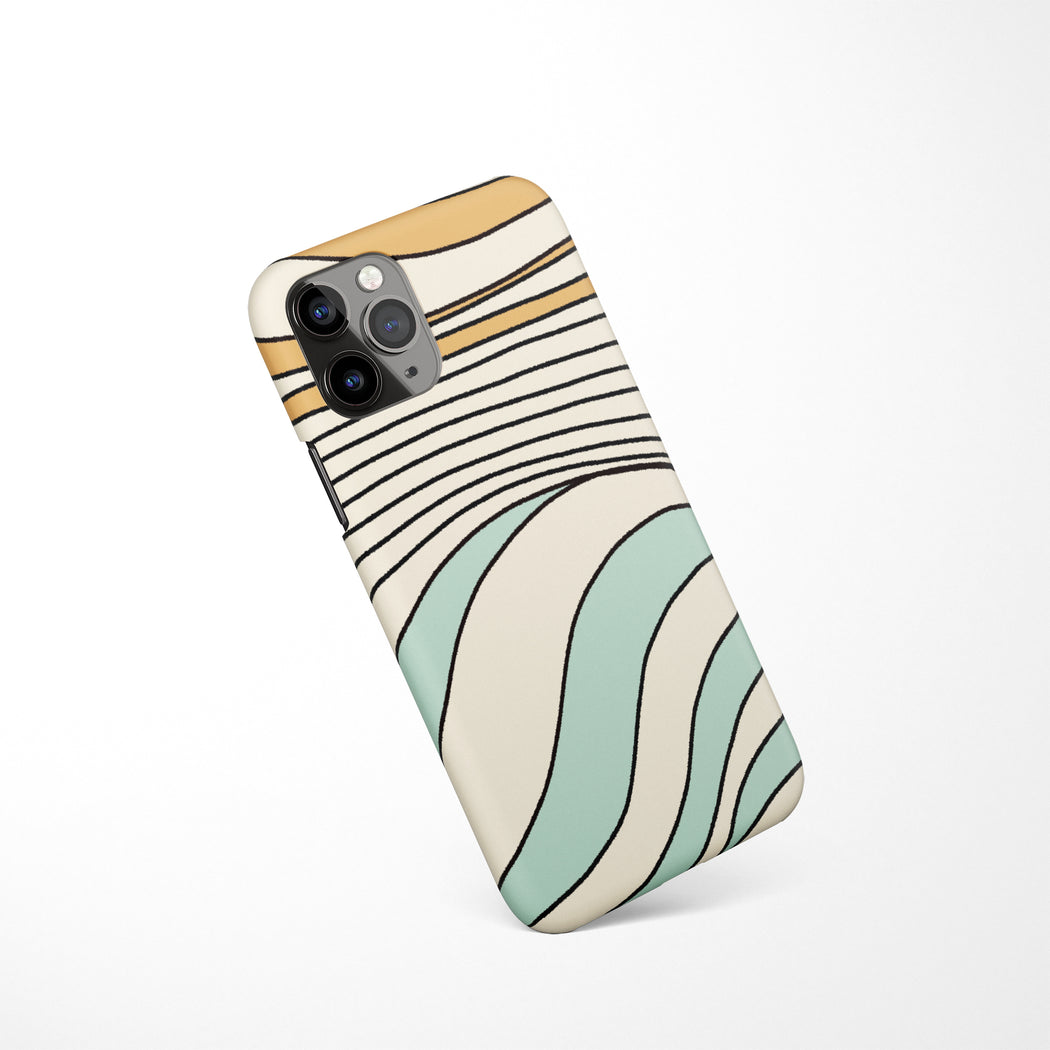 Abstract Retro iPhone Case