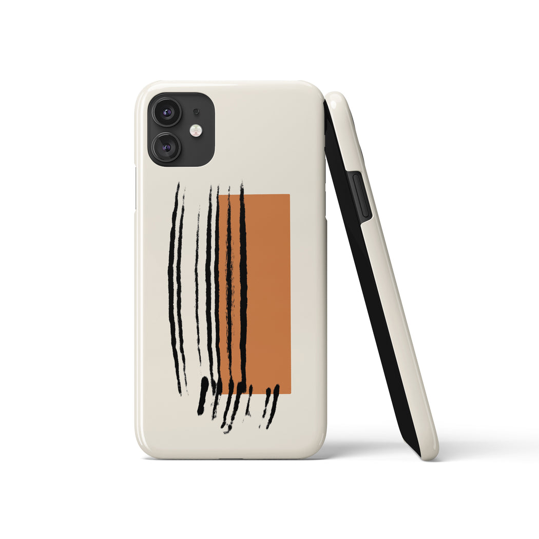 Mid Century Drawing iPhone Case 4