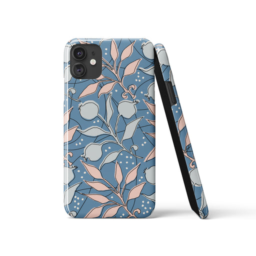Retro Floral Pattern iPhone Case 2