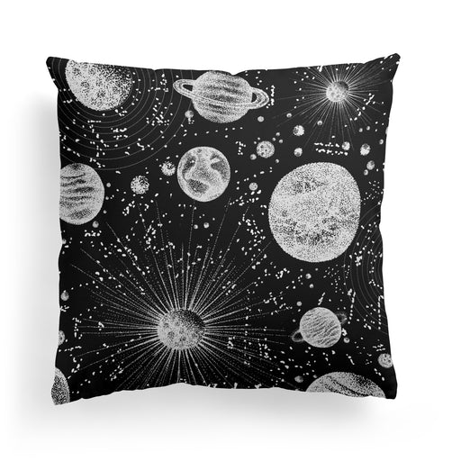 Spacex Throw Pillow
