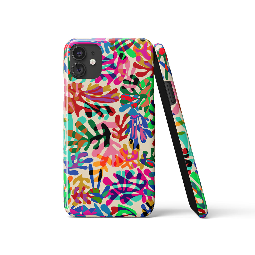 Floral Art Print iPhone Case
