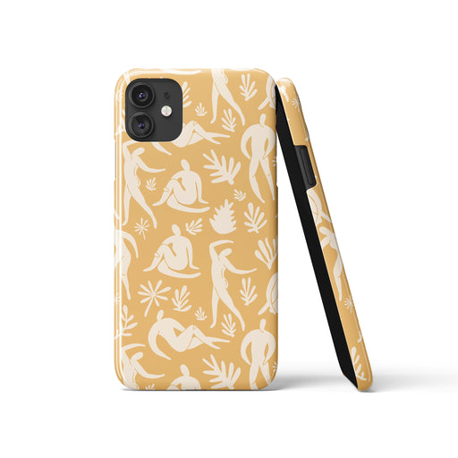 iPhone Case with Women Cutouts Print