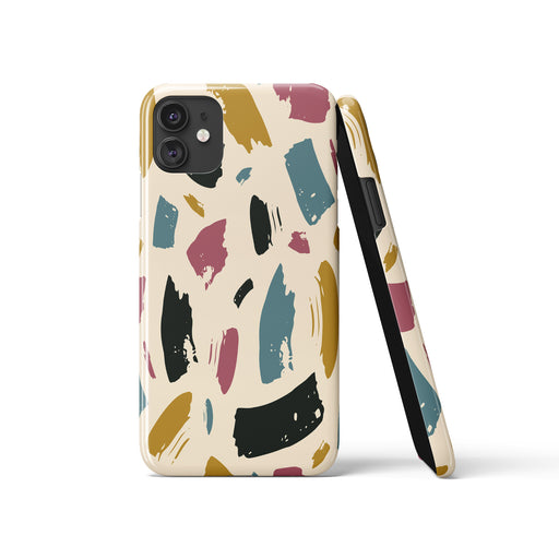 iPhone Case with Abstract Art