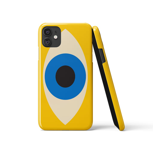Bauhaus Eye iPhone Case