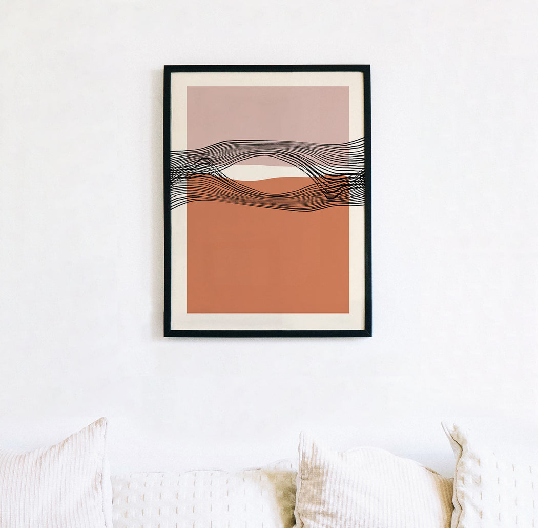 Mid Century Modern Composition
