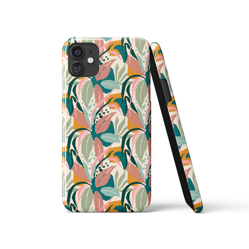 iPhone Case with nature-inspired pattern