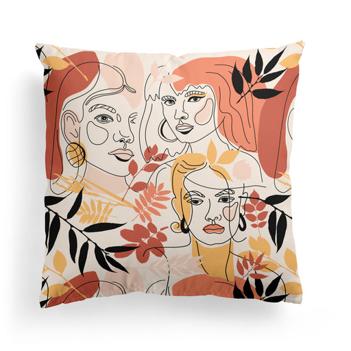 Pillow with Girls