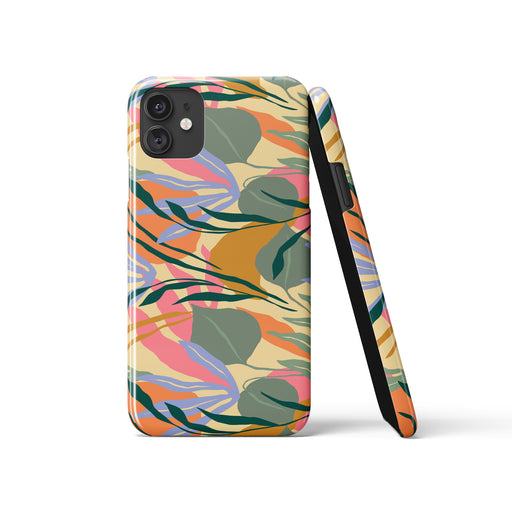 iPhone Case - jungle abstraction