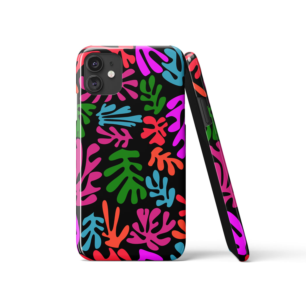 Matisse Inspired Pattern iPhone Case v2