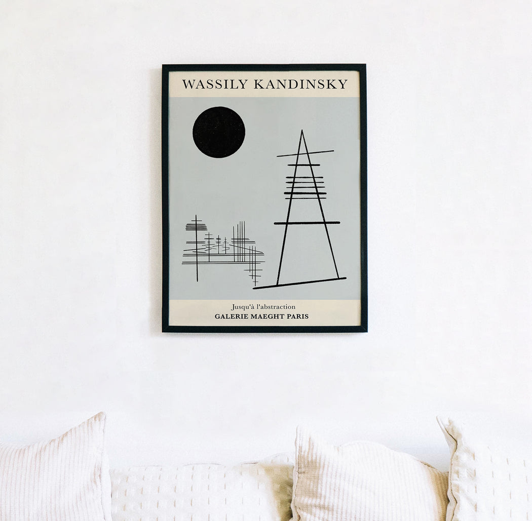 Wassily Kandinsky Poster - Shop posters, Art prints, Laptop Sleeves, Phone case and more Online!