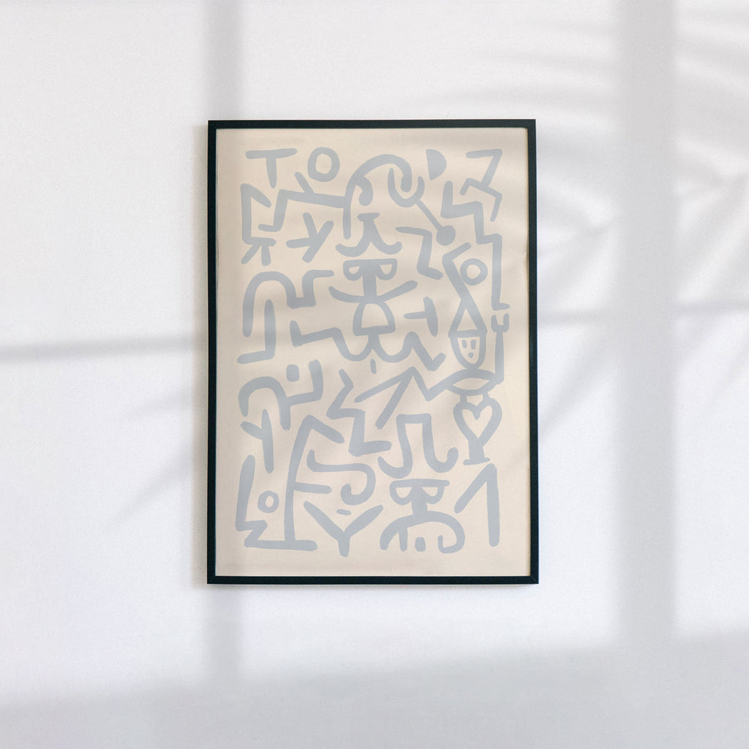 Klee Abstract Poster
