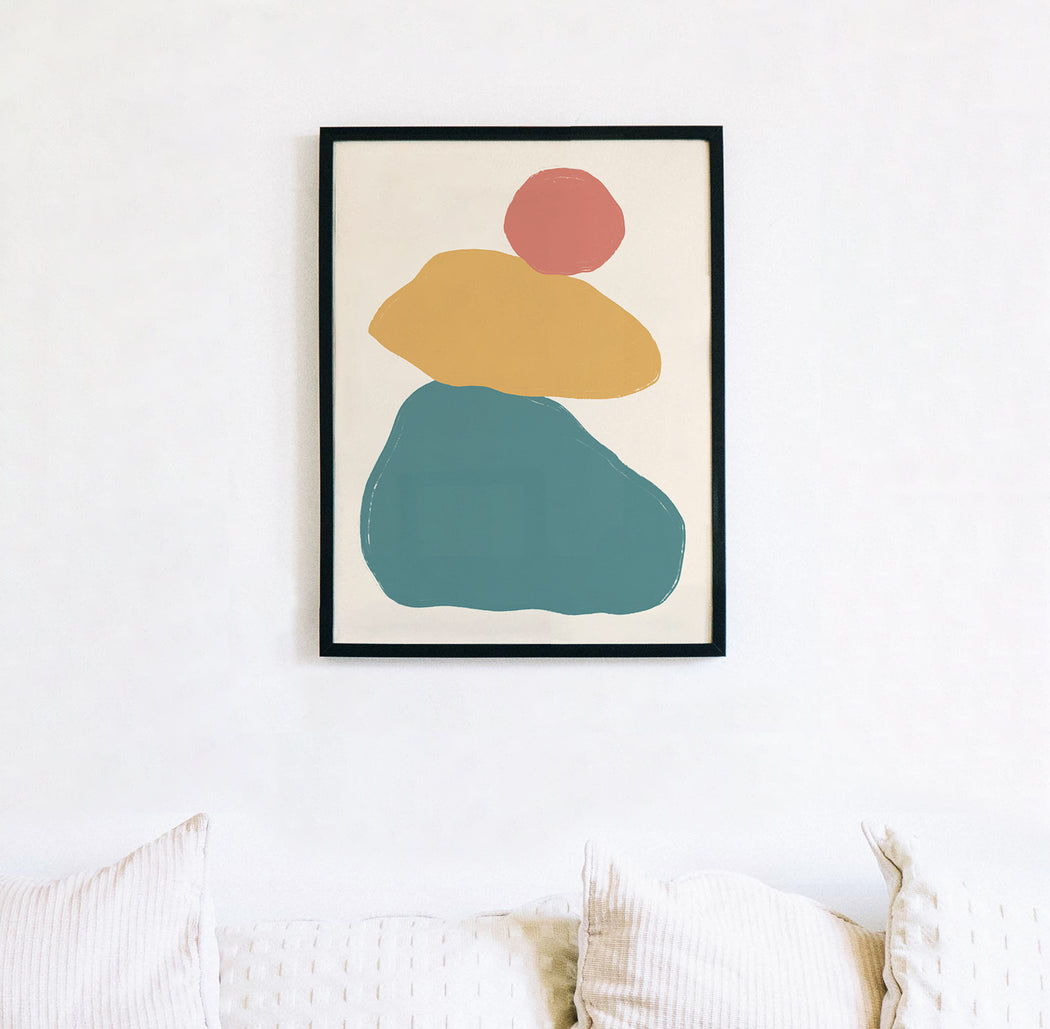 Abstract Shapes Art Print
