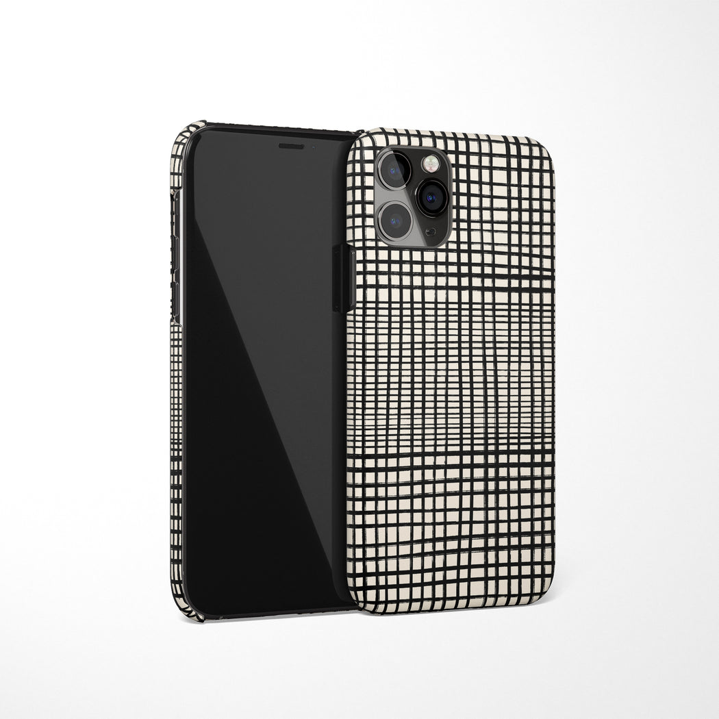 Black & White Pattern iPhone Case