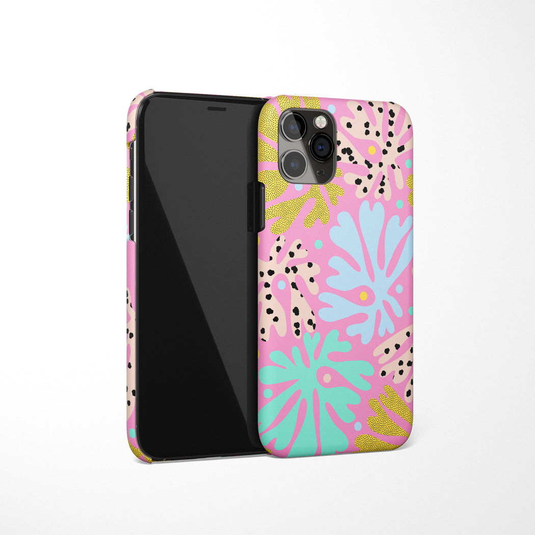 Aesthetic Floral iPhone Case