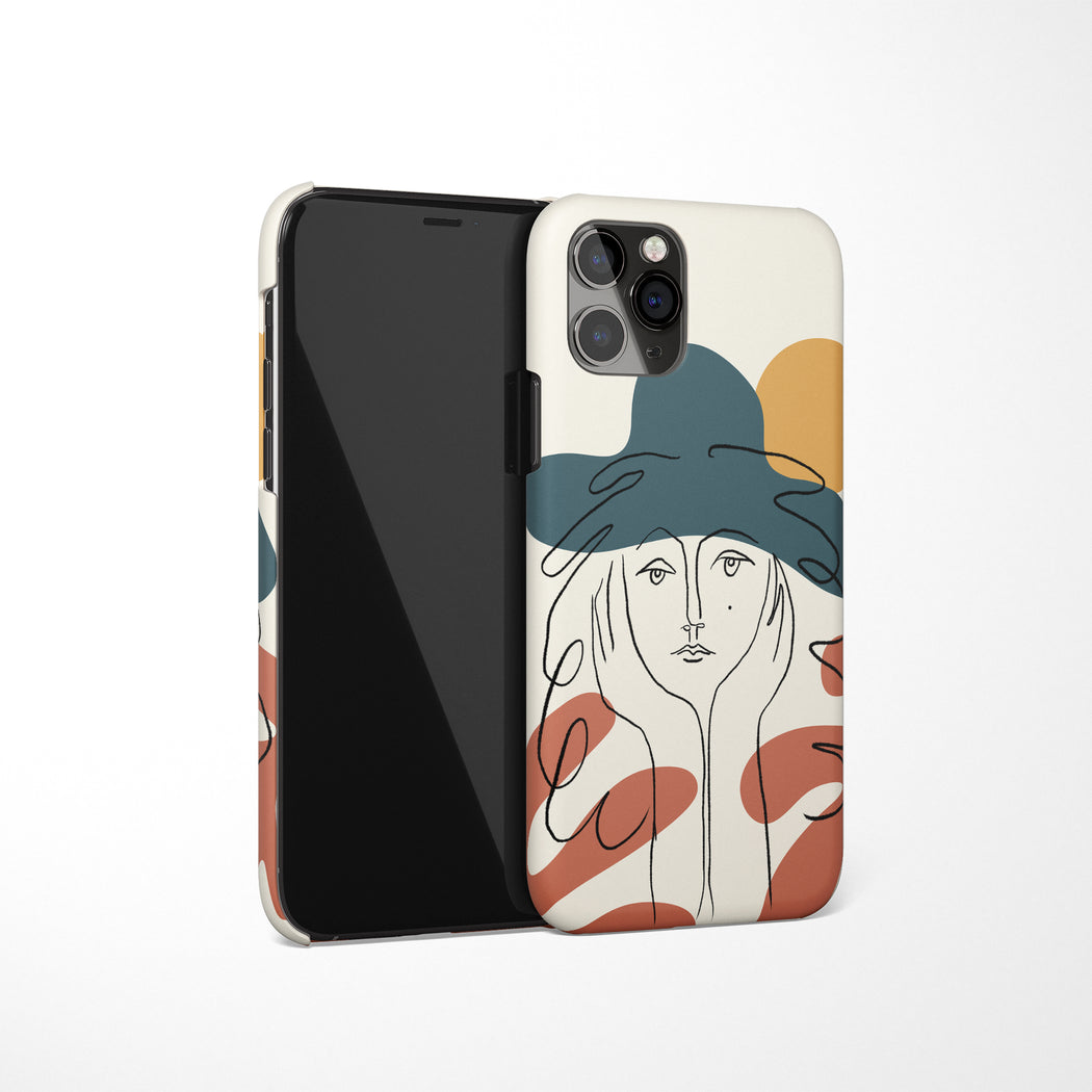 Picasso Face iPhone Case 3