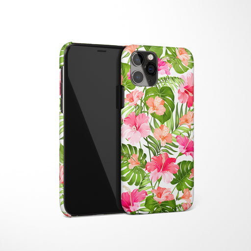 Blooming Hibiscus iPhone Case