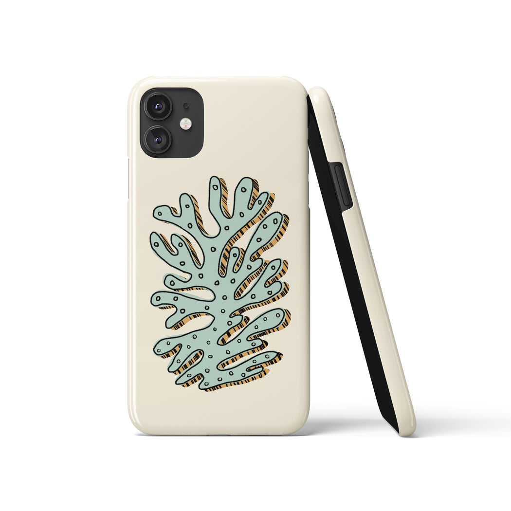 Artsy Leaf iPhone Case