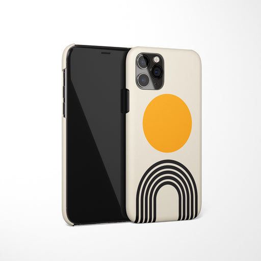 Geometric Arches iPhone Case