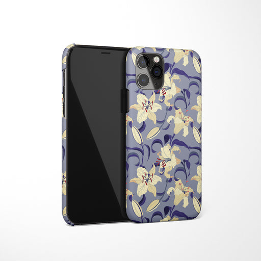 iPhone Case with Lilies Print