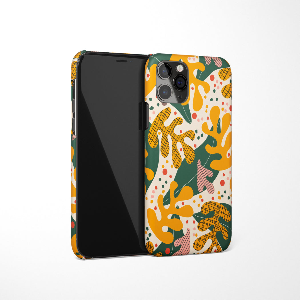 Floral Pattern iPhone Case 2