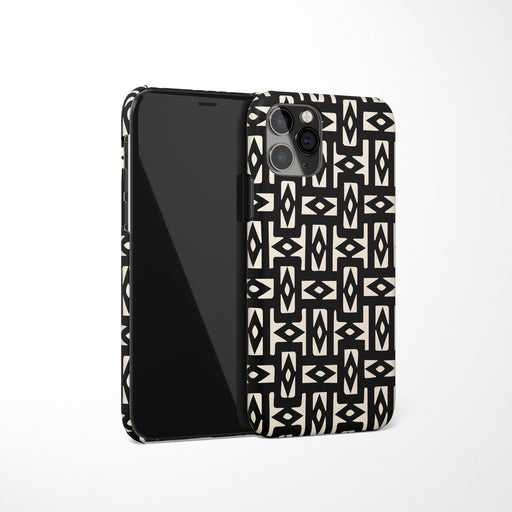 Art Deco Black iPhone Case