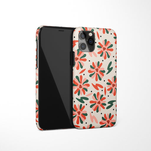 iPhone Case with Floral Pattern