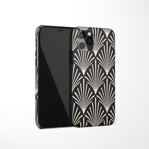 Black Gatsby iPhone Case