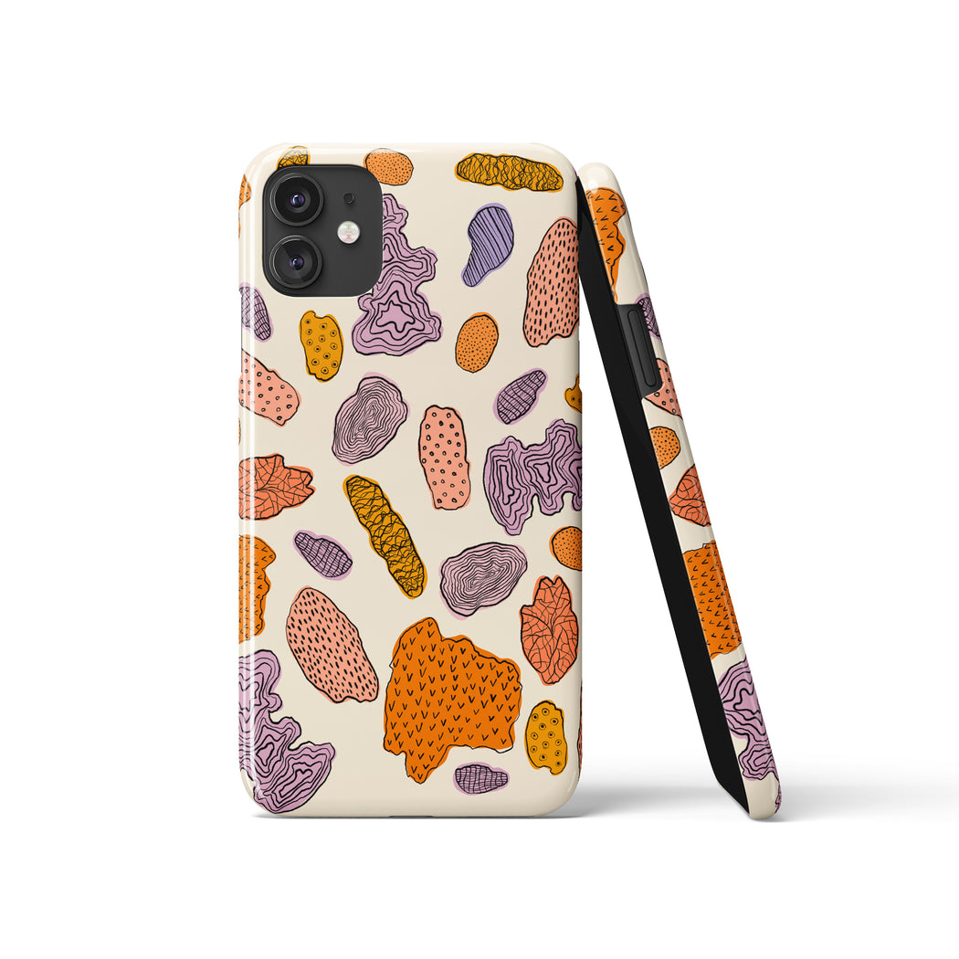 Botanical Shapes iPhone Case