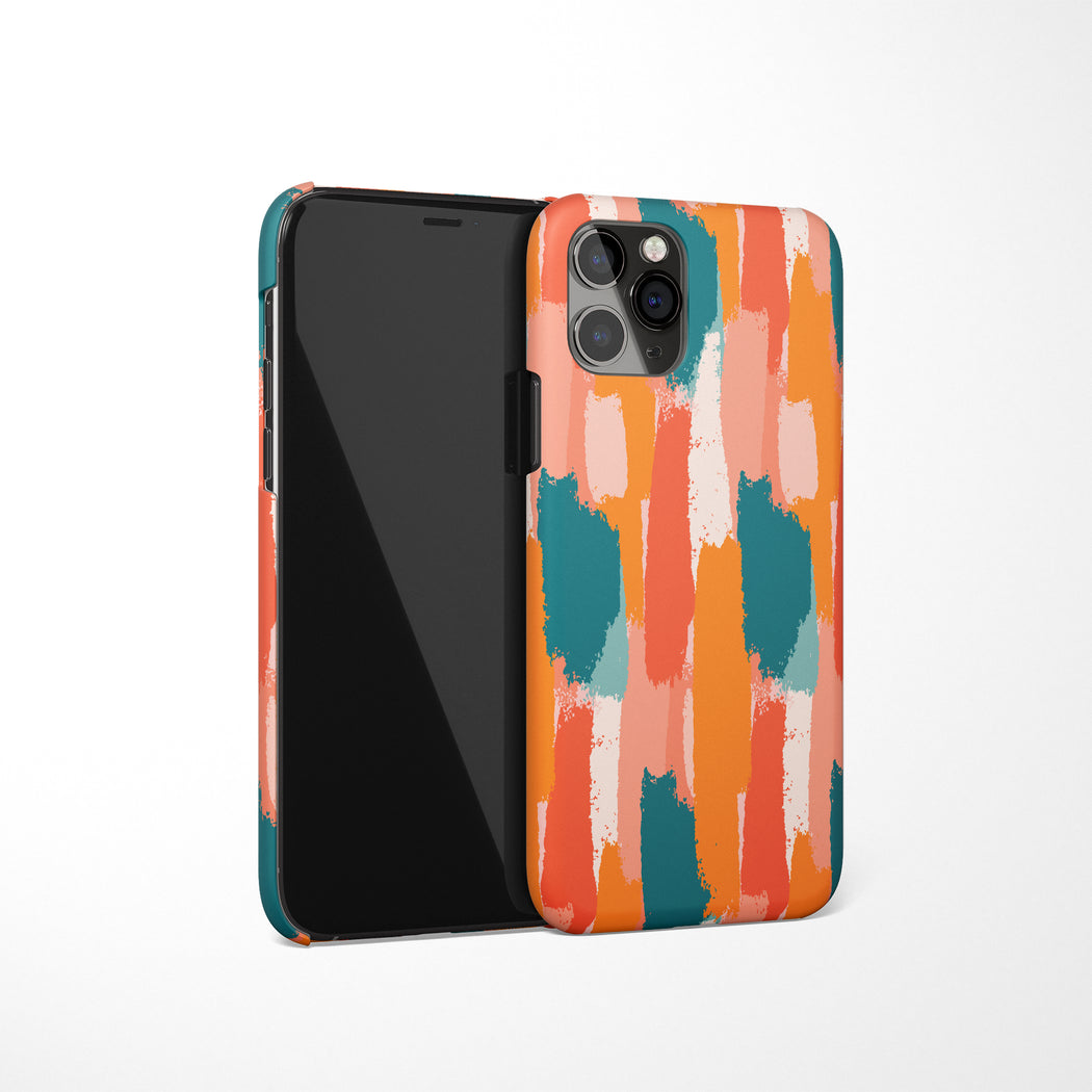 iPhone Case with Colorful Pattern