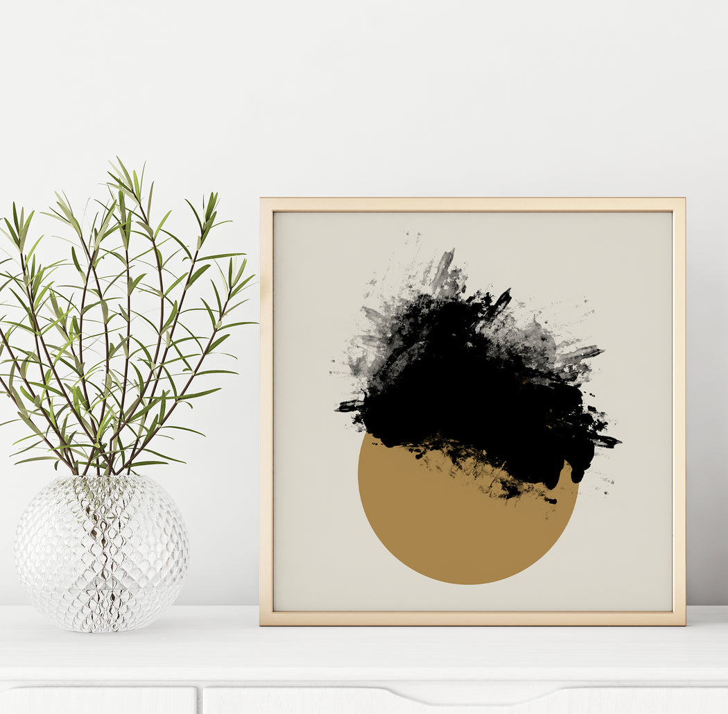 Abstract Ink Wall Art Print - Shop posters, Art prints, Laptop Sleeves, Phone case and more Online!