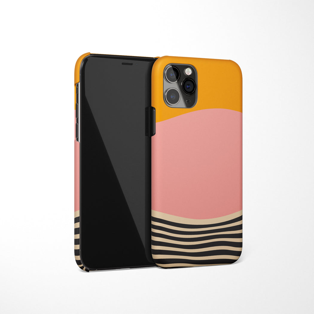 Geometric Painting iPhone Case