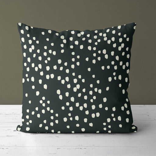 Pillow with Retro Dots v3