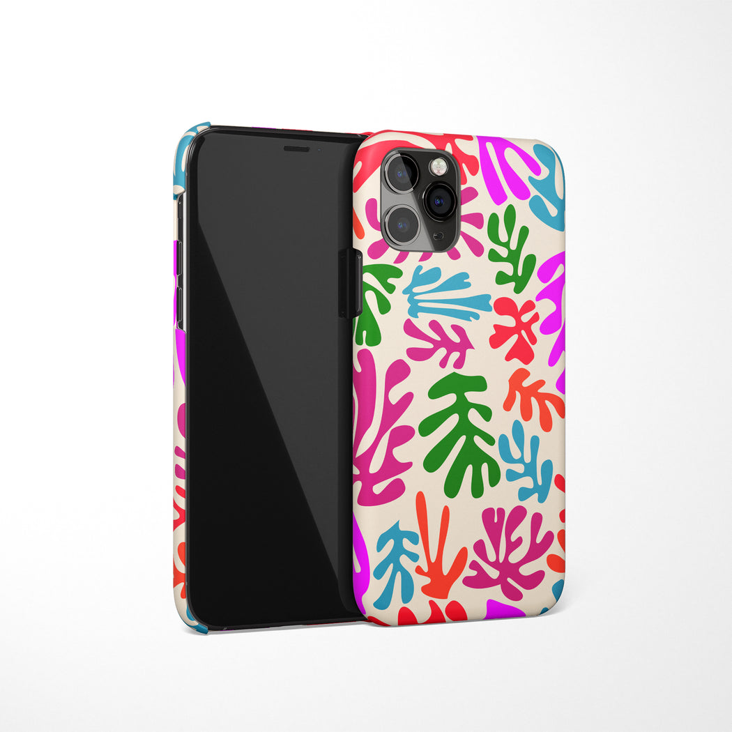 Matisse Inspired Pattern iPhone Case v3