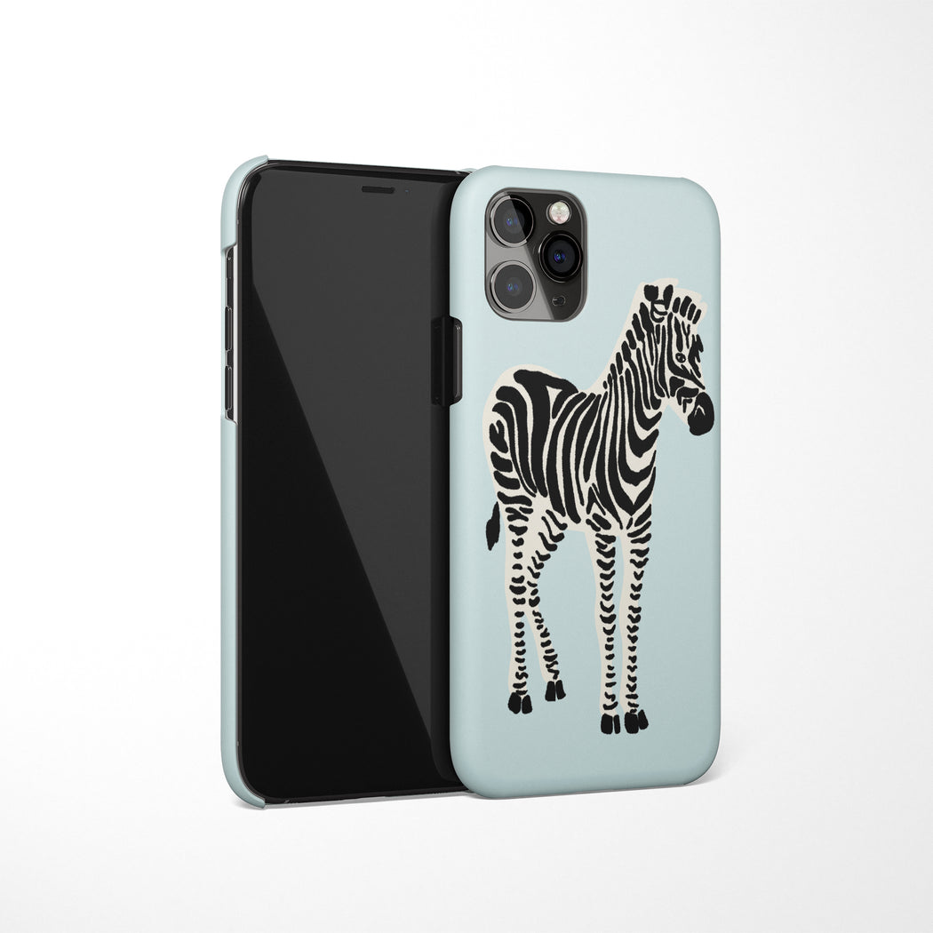 Zebra Drawing iPhone Case