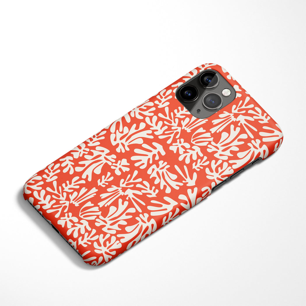 Matisse Red Pattern iPhone Case