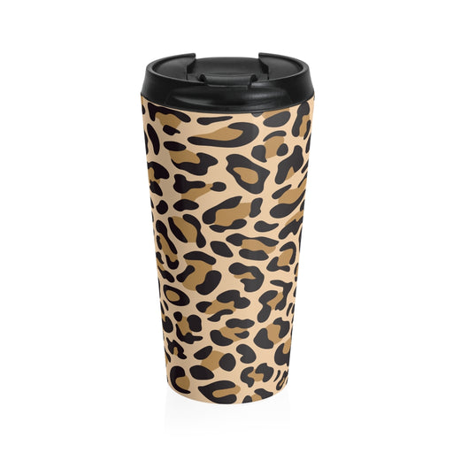 Leopard Art Travel Mug