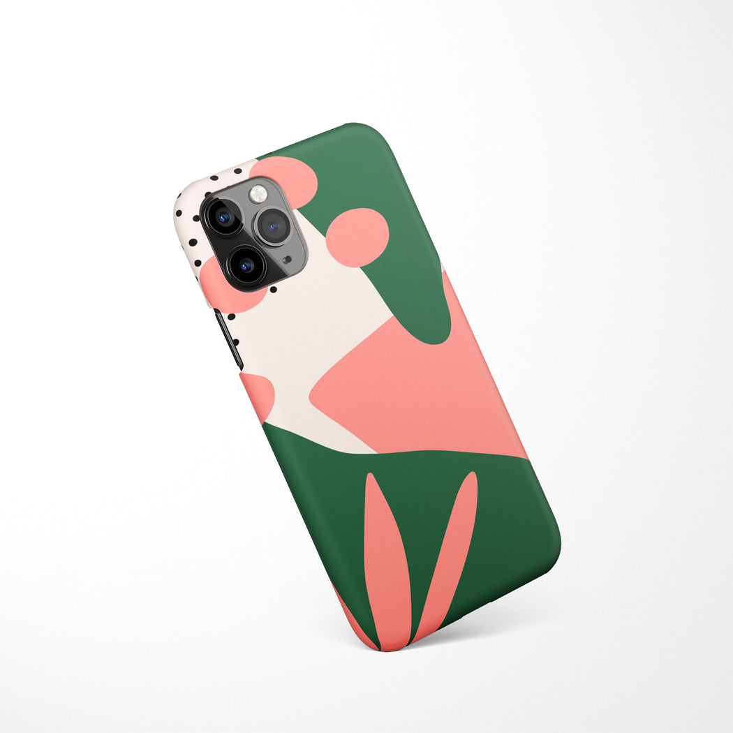 Mid Century Drawing iPhone Case