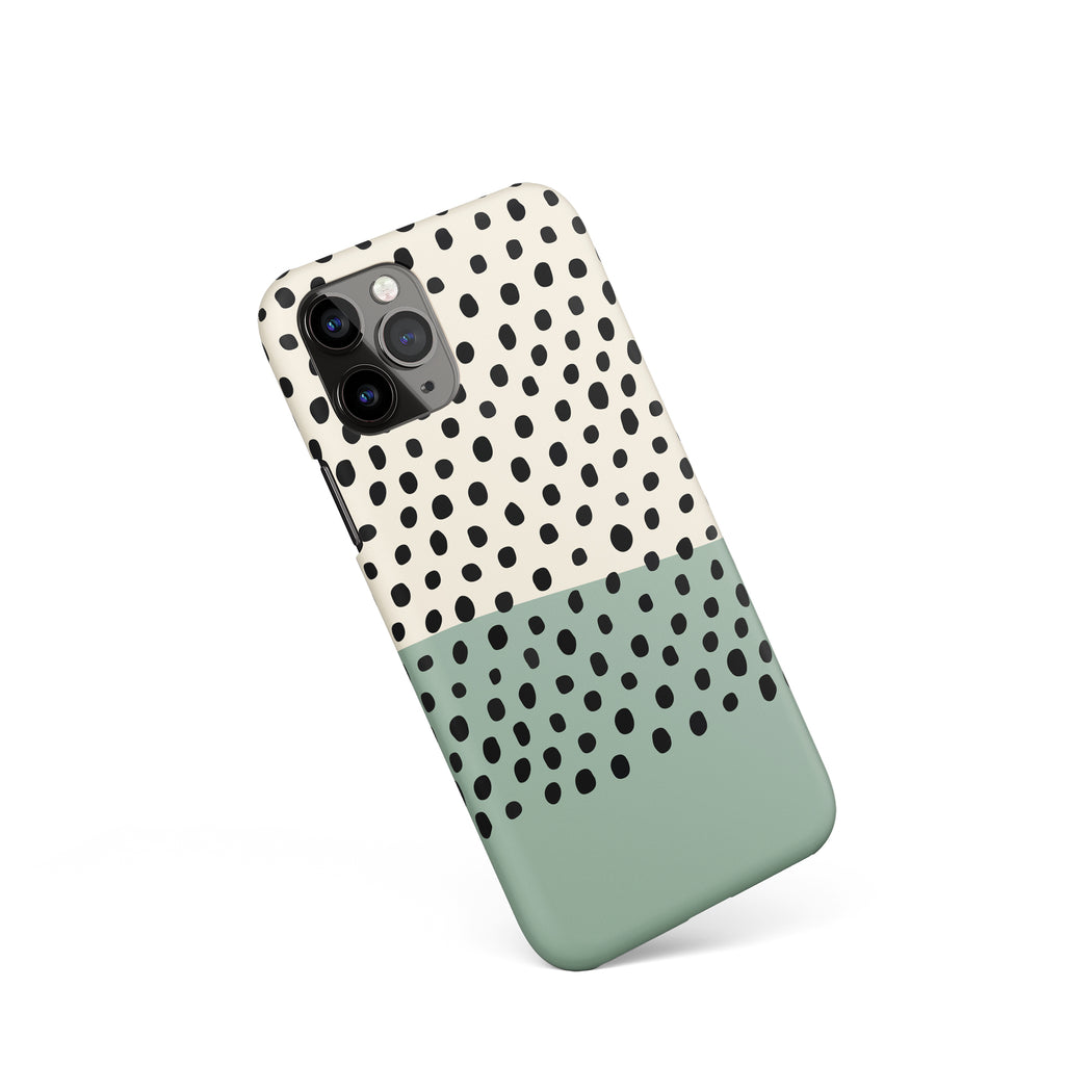 Abstract Dots iPhone Case 2