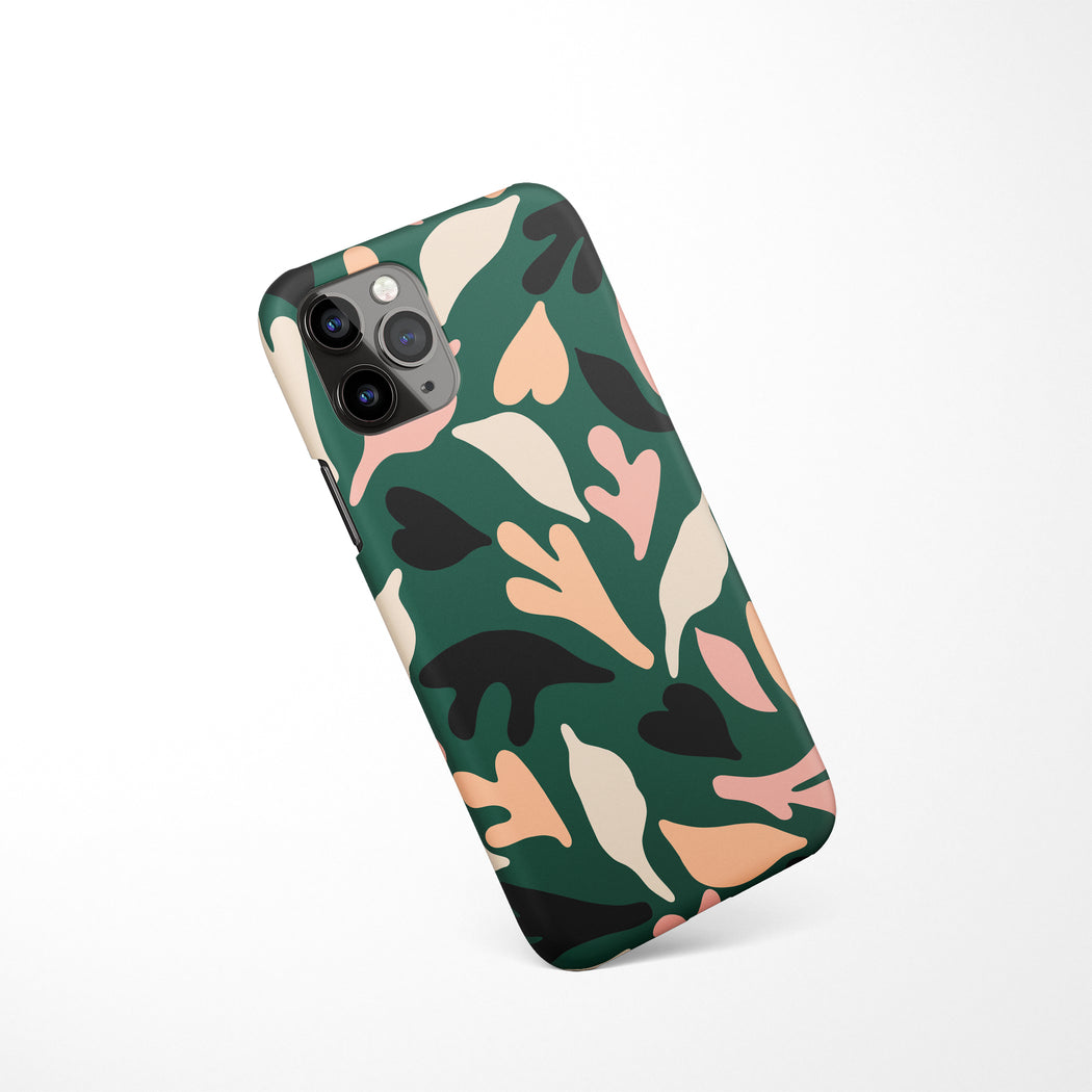 Mid Century Floral iPhone Case