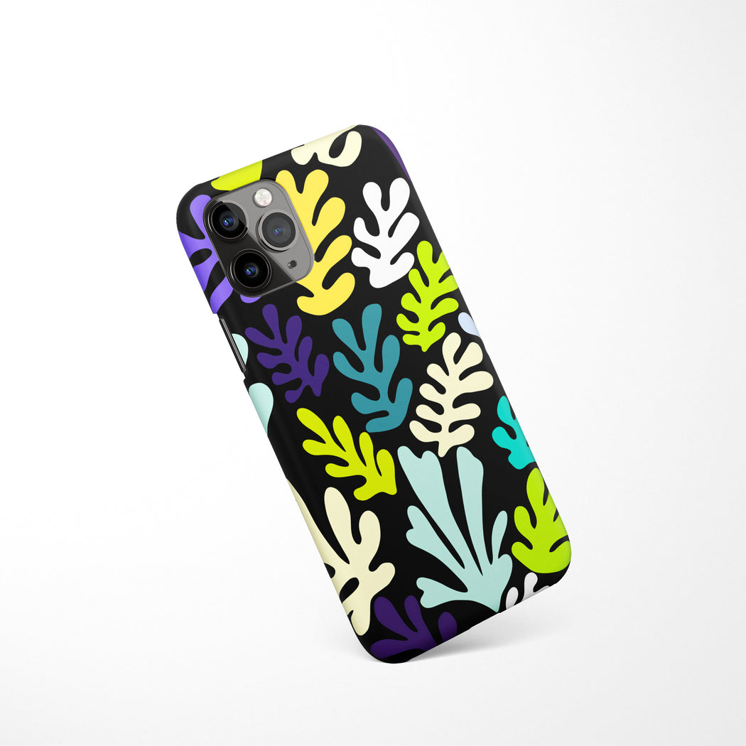 Matisse Inspired Pattern iPhone Case v8