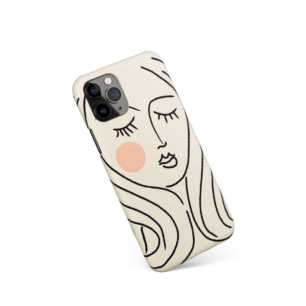 Matisse Line Art iPhone Case 2